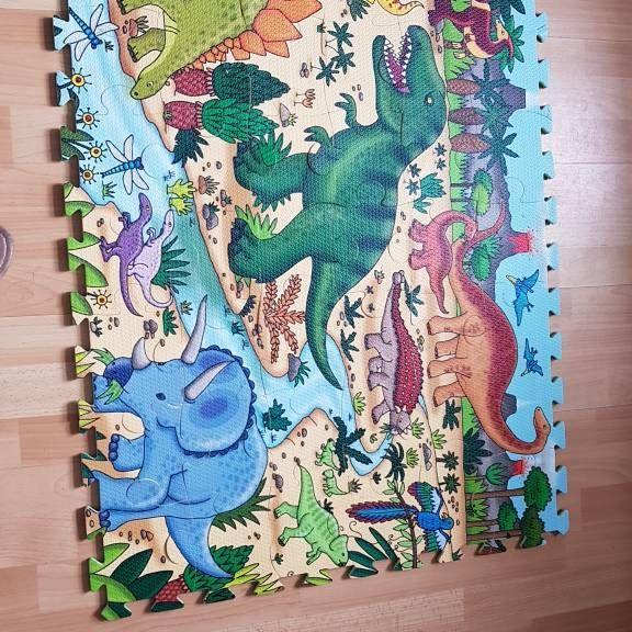 elc foam dinosaur floor puzzle