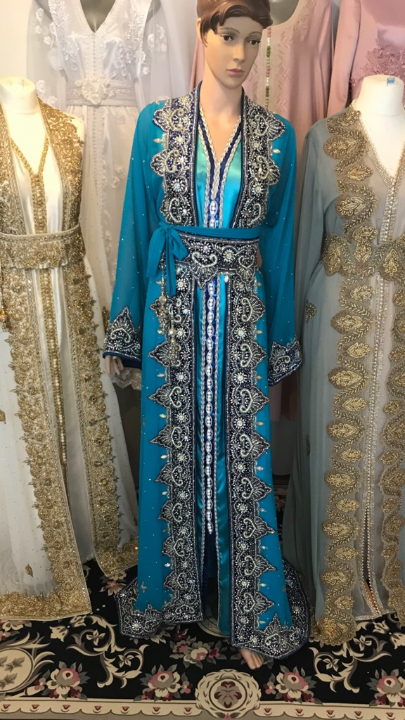 Moroccan Kaftan wedding dress