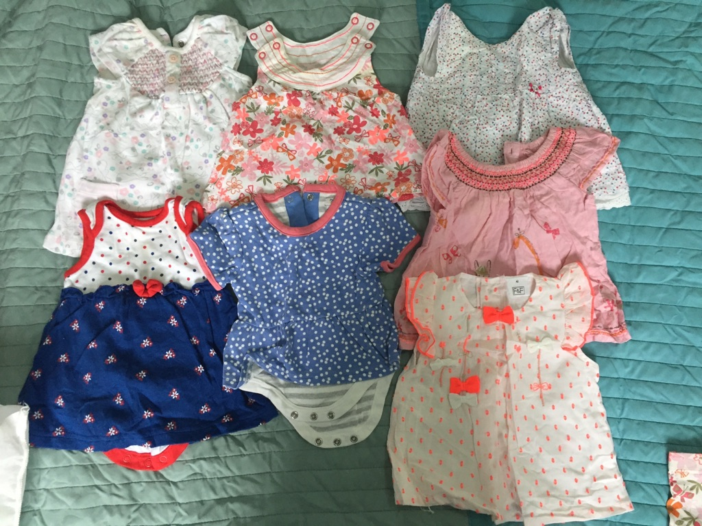 Spring clothes 18 item bundle 0-3 months