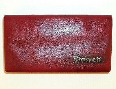 Vintage Starrett 711LCSZ Last Word Dial Test Indicator .0005 Machinist Tool Box