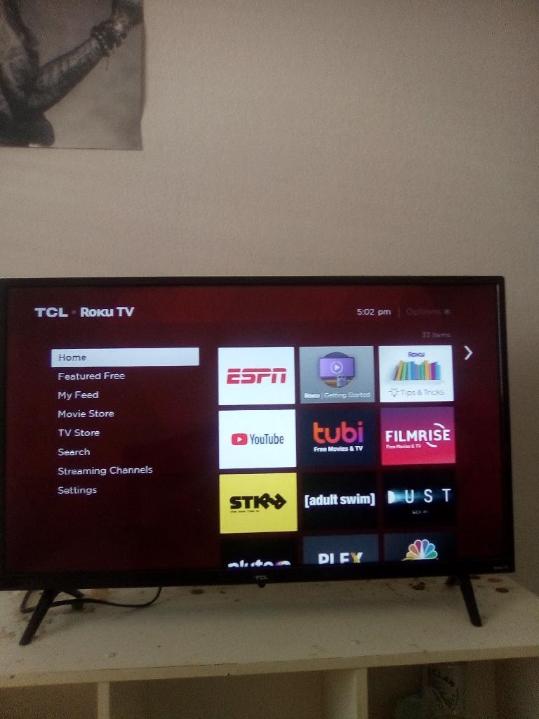 TCL tv Roku