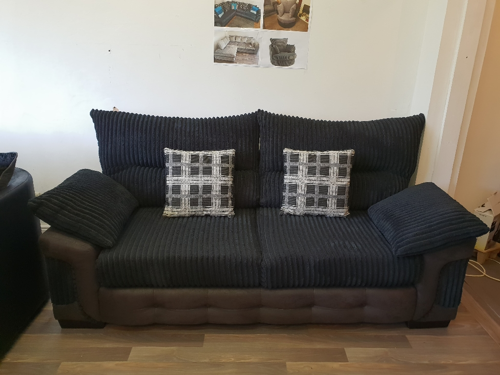 3+3 seater Ex display