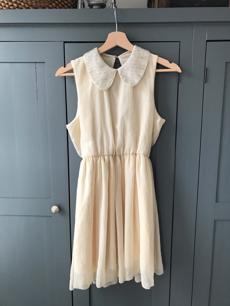 Lovely cream dress