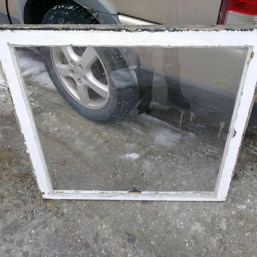 Vintage window sashes