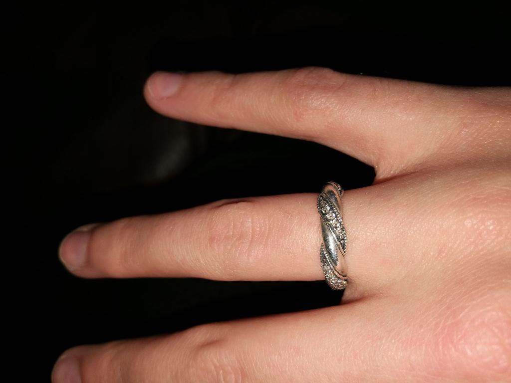b9caa8df0 Ribbon of love Pandora ring | Village