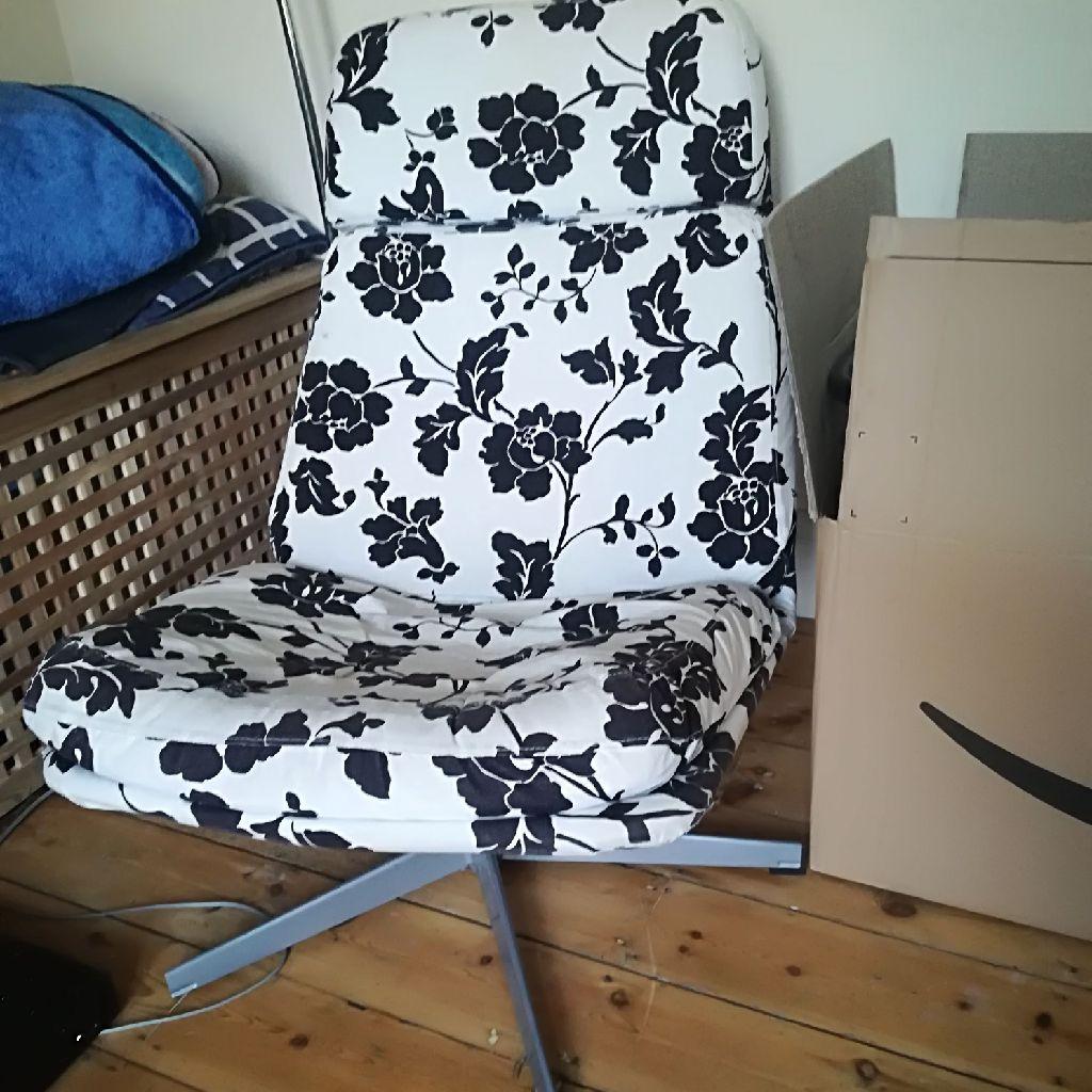Ikea chair .