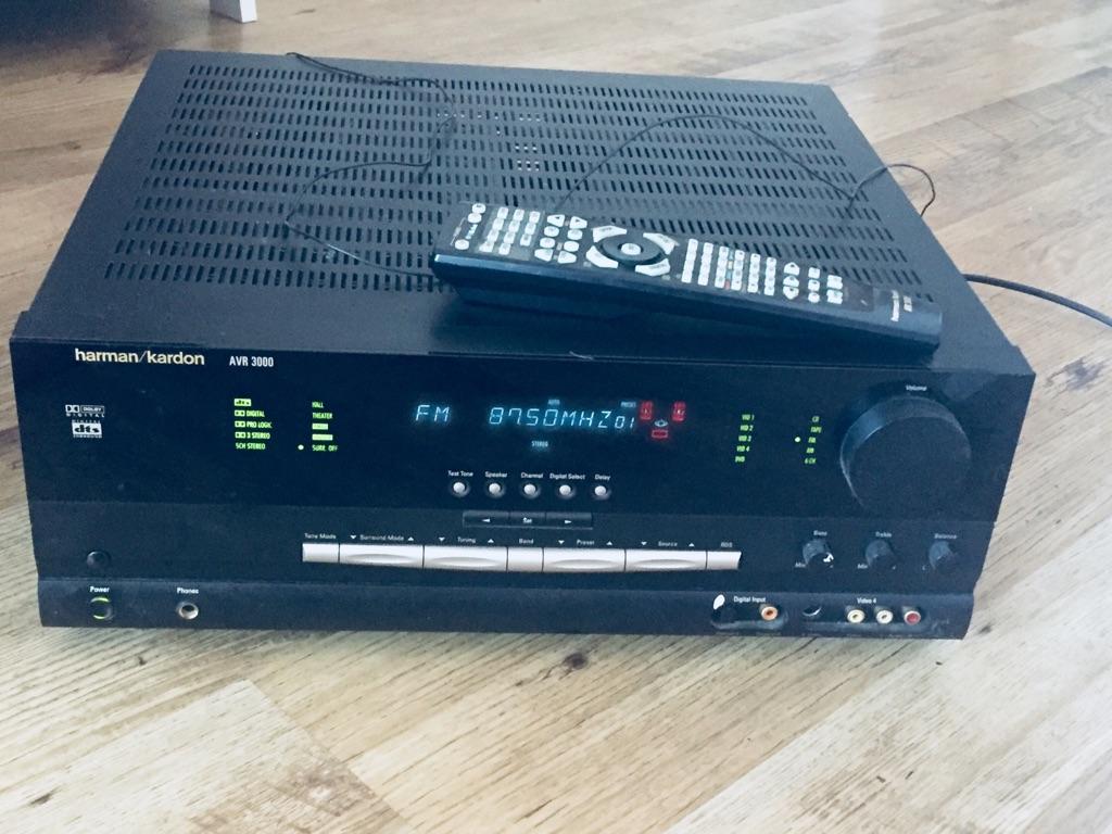 Harman/Kardon AVR3000 Dolby Digital Receiver