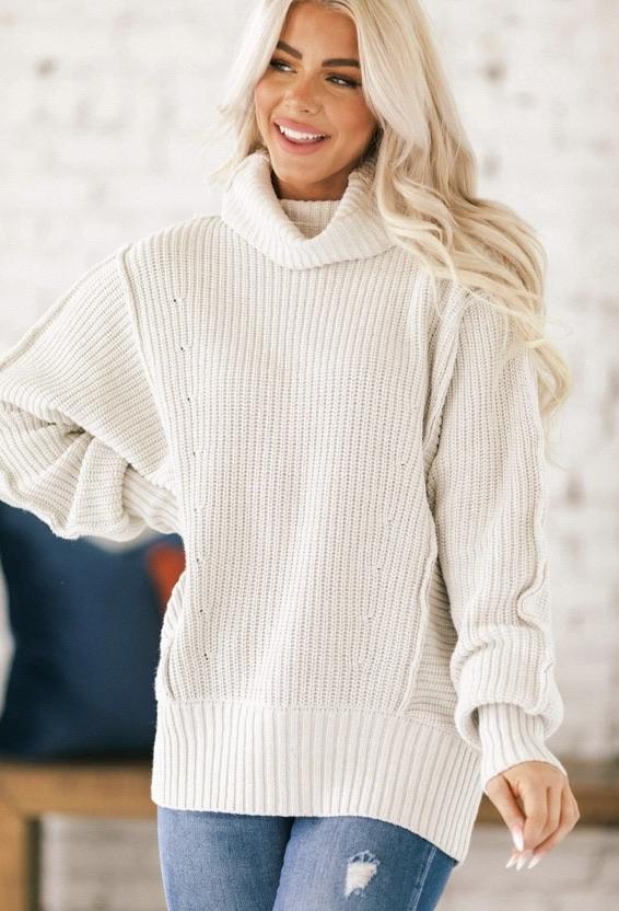 Oversized sweater 20% off using my code below ⬇️