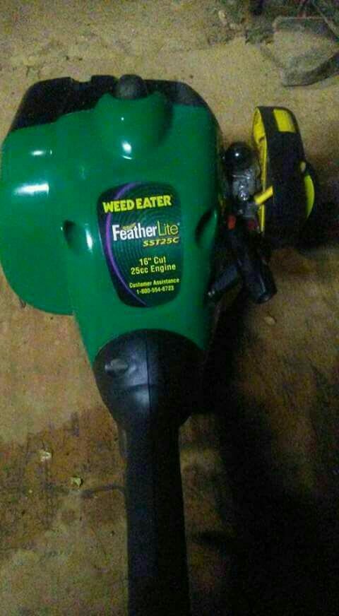 Feather lite weed eater