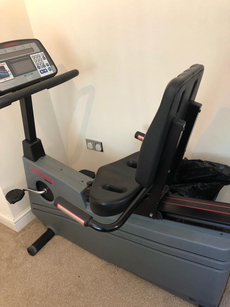 Lifestyle recumbent exercise bike