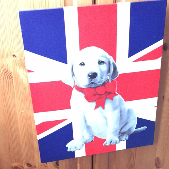 Dog painting / picture