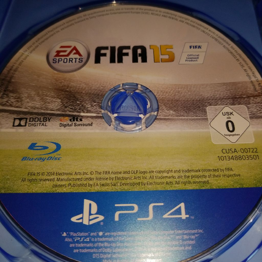 Fifa 15 gane for ps4
