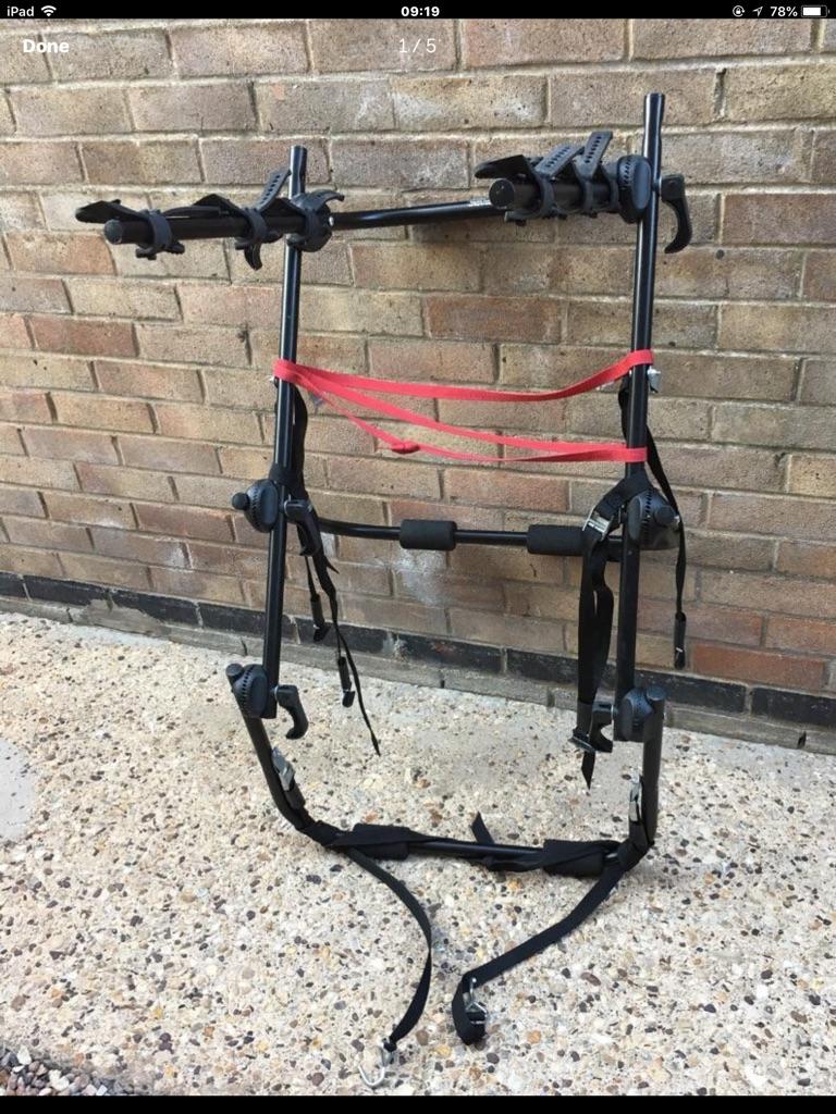 Paddy Hopkirk Snowdon 3 bike hi-mount carrier