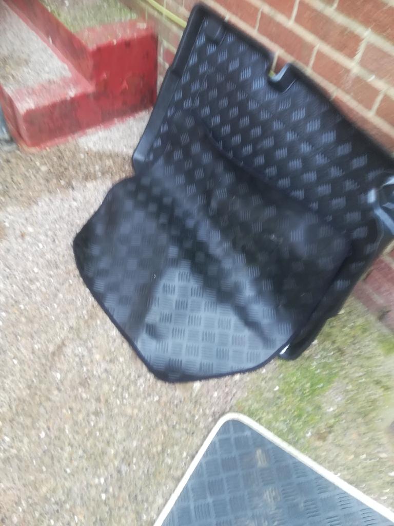 Boot liner and car mats