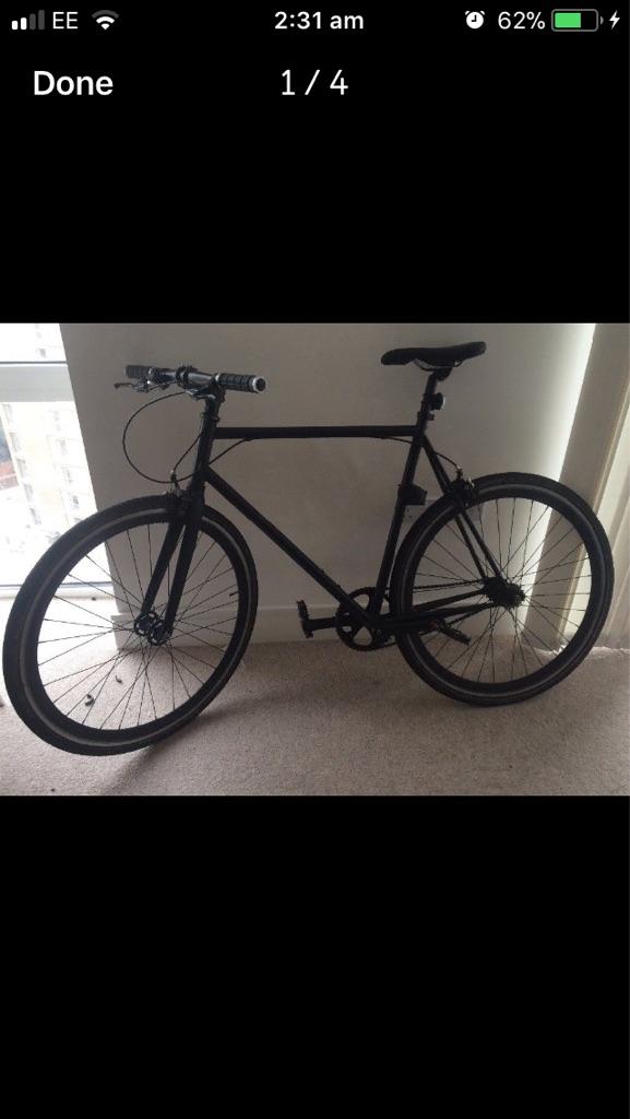 Single speed Blank bike