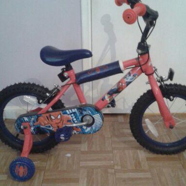 Spiderman kids bike
