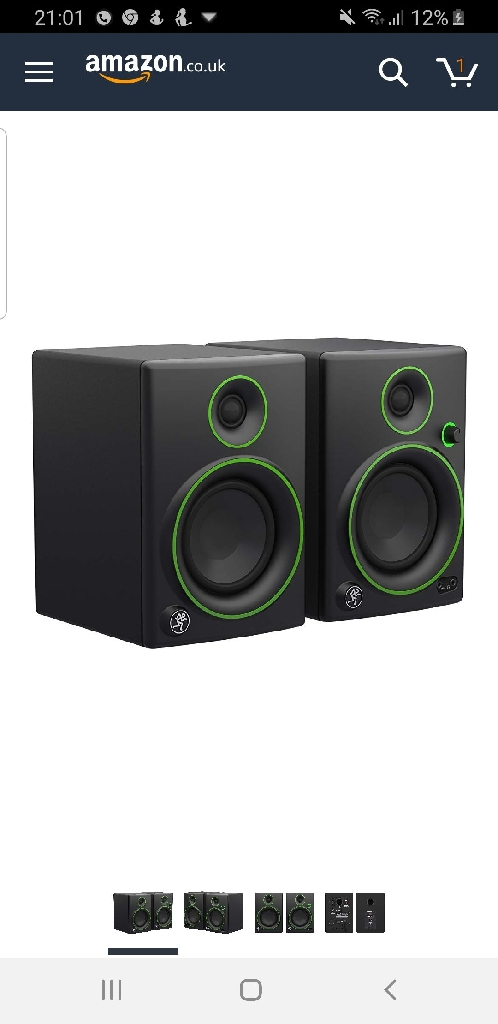 4 inch monitor speakers