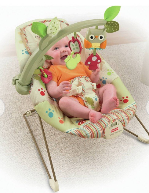 Bouncer Fisher price Woodsy Friends Soothing vibrations