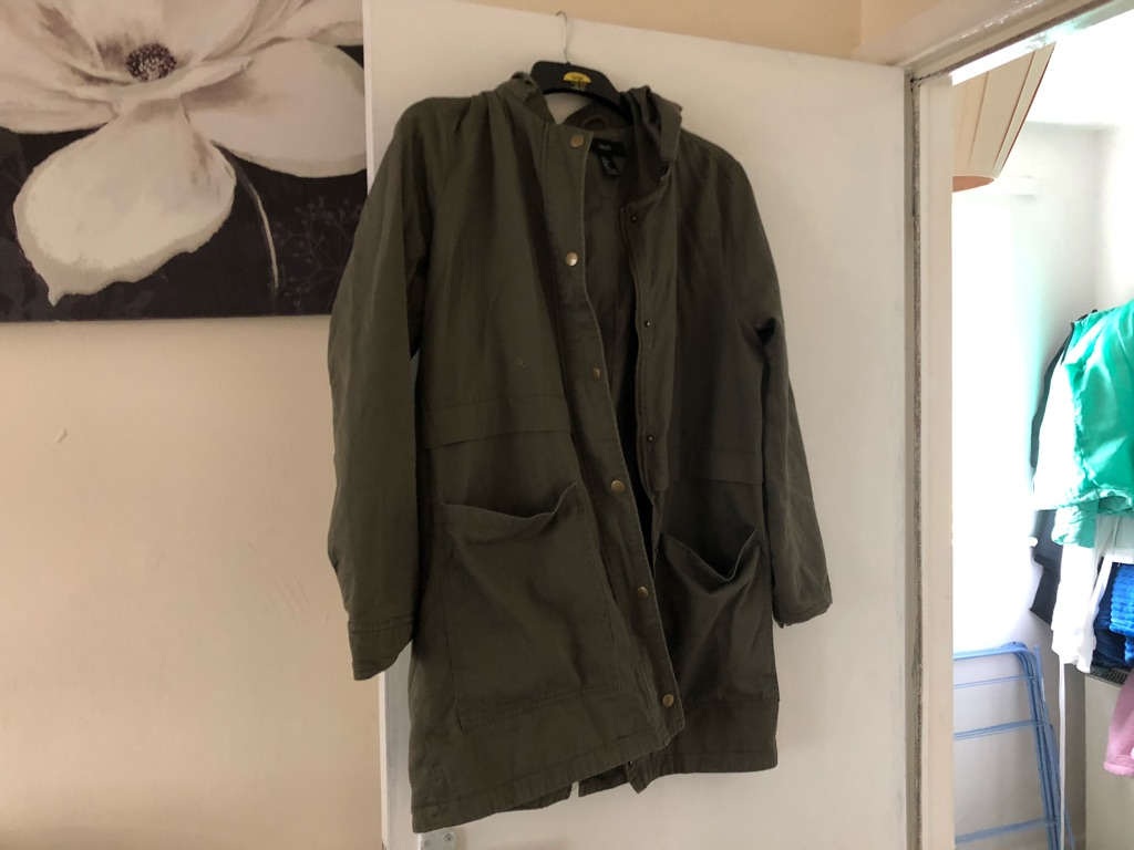 Men's coat size large from forever 21