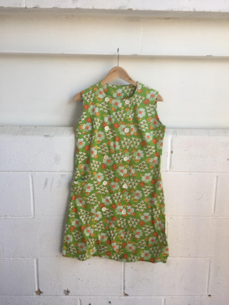 Original floral vintage dress size 10