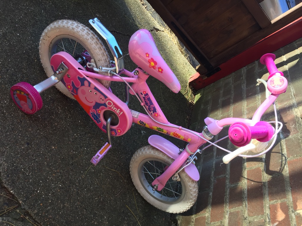 Peppa pig children's bike