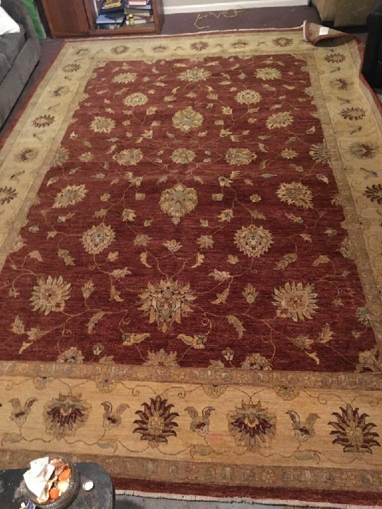 Wool Antique Rug 10x14 foot 3
