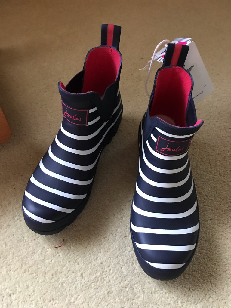 Joules wellibobs size 5 BNWT