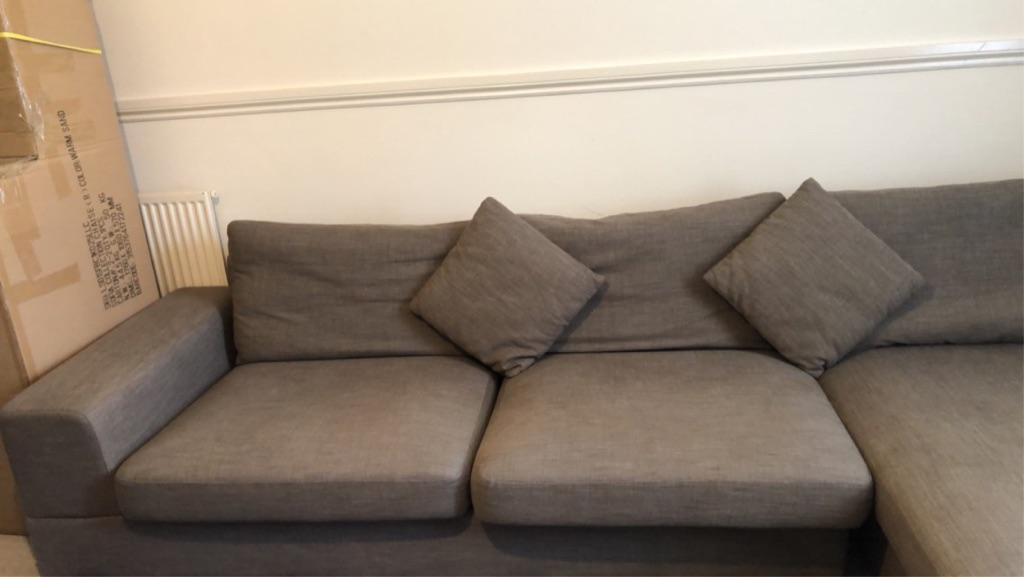 L'shape sofa