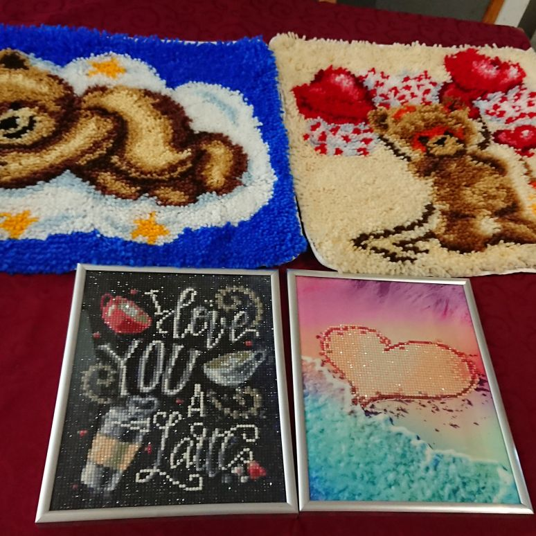 Handmade rugs and frames
