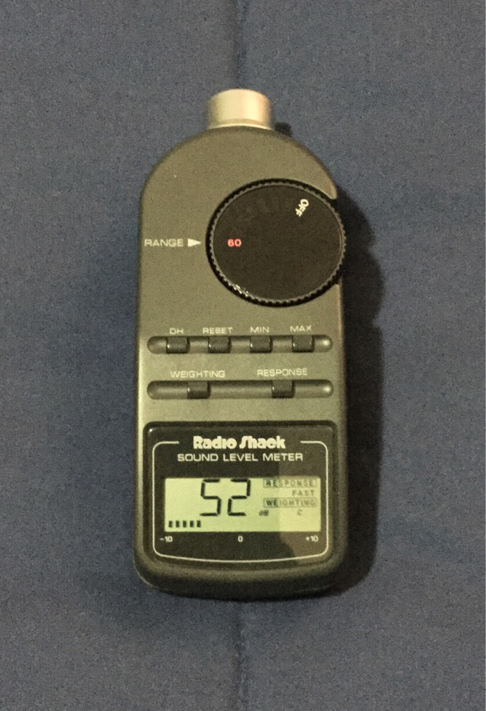 RADIO SHACK DIGITAL SOUND LEVEL METER