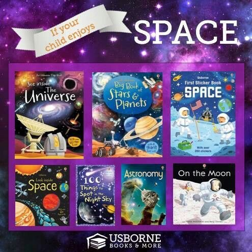 Space range collection from Usborne Books