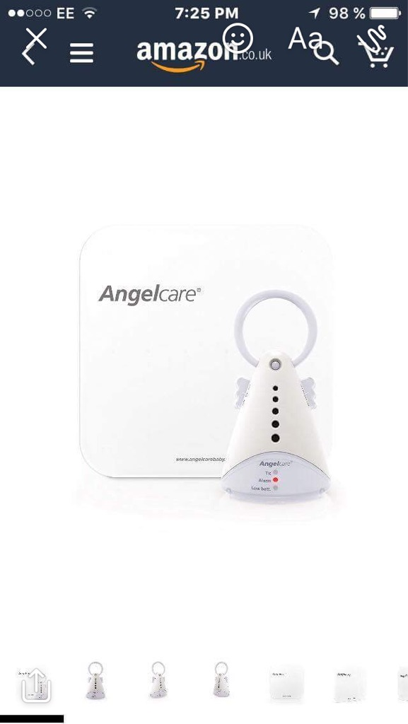 Angelcare baby sleep monitor