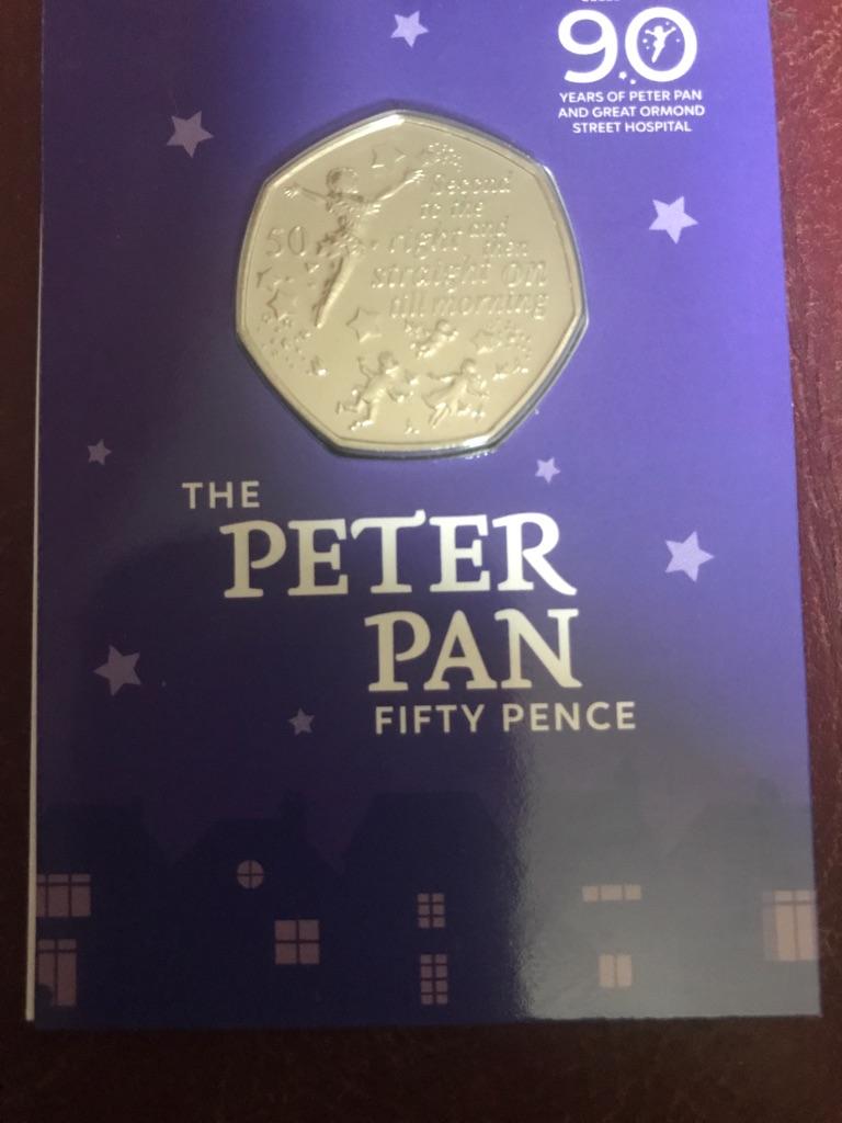 BUNC Peter Pan 50p