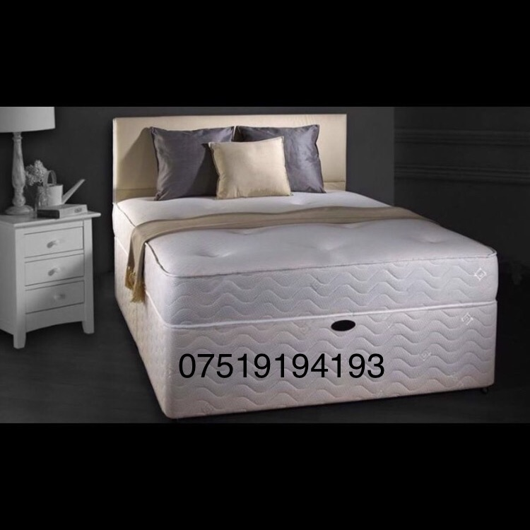 Amazing quality brand new divan beds for sale option with different variety of mattresses
