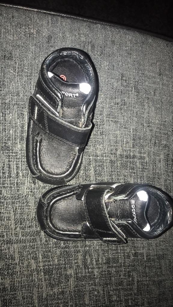 Baby boy genuine rockport boots size uk 3.5