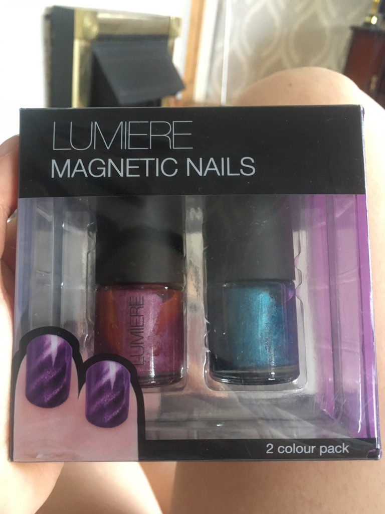 Lumiere magnetic nails brand new