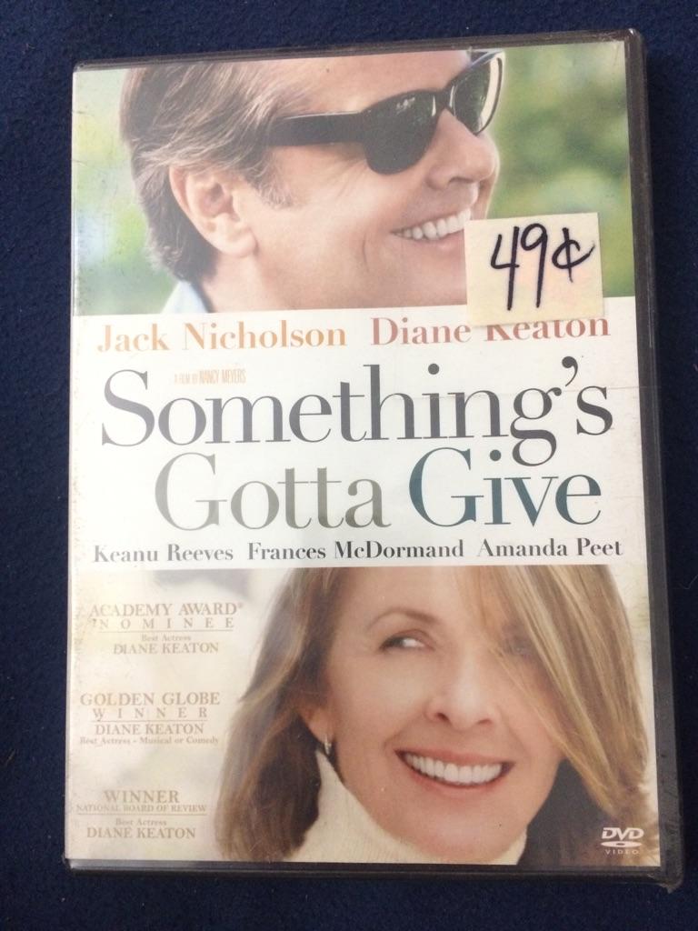 Something's Gotta Give DVD