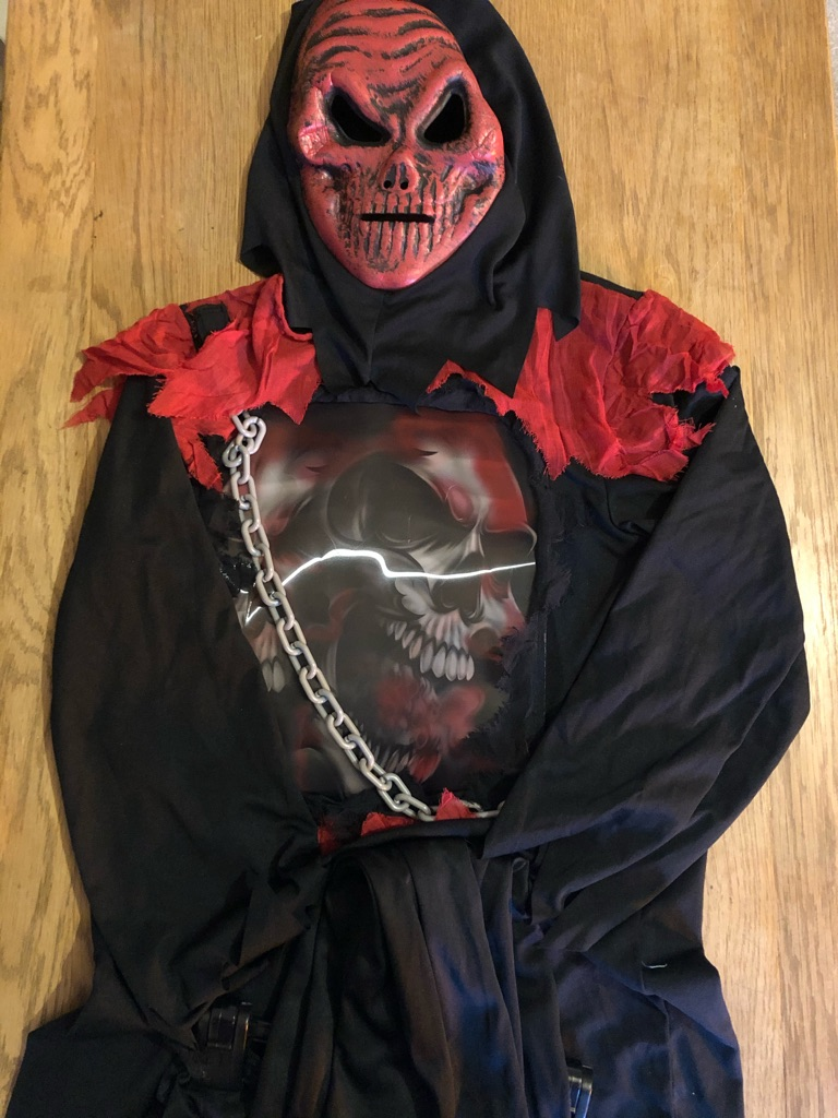 Halloween outfits - vampire, werewolf, monster