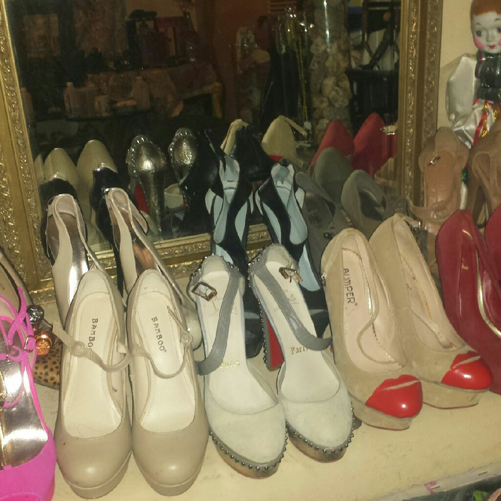 New shoe lot high heels