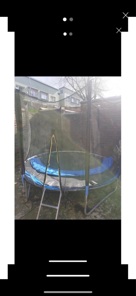 Trampoline good condition 10ft
