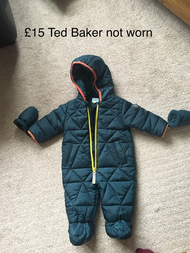 Ted Baker baby boys snowsuit