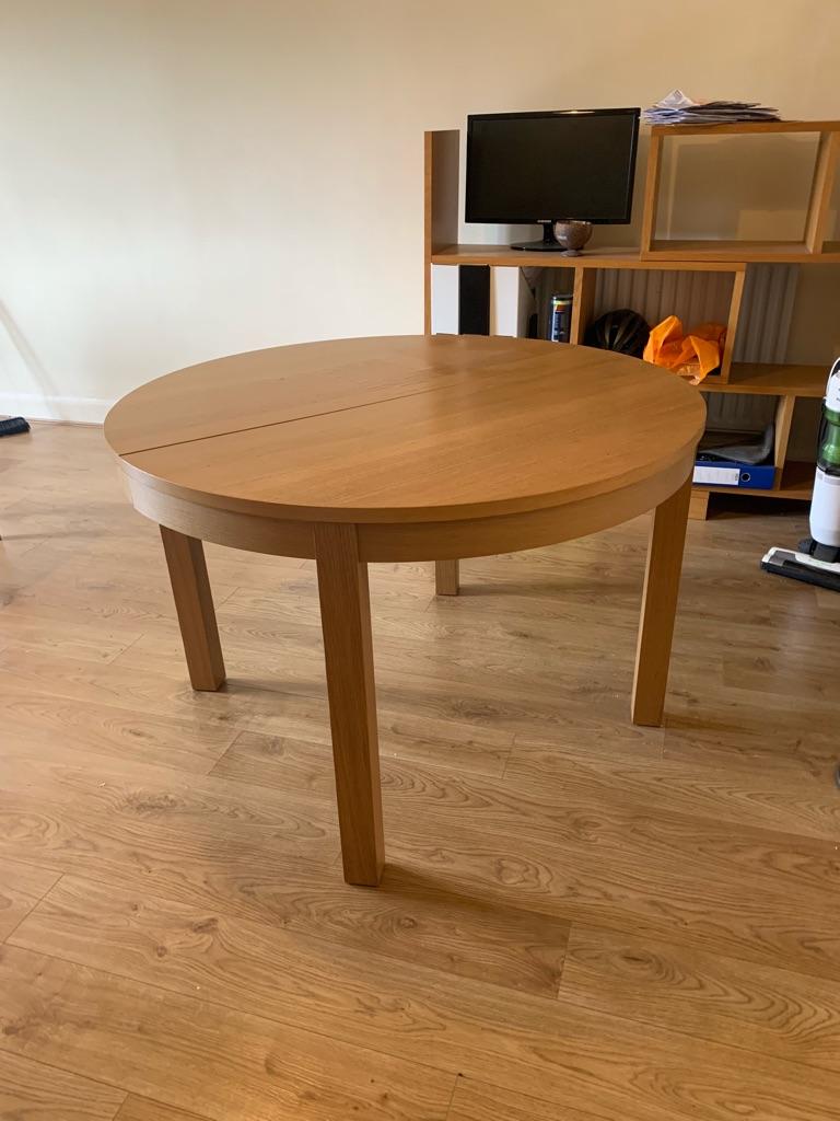 Bjursta extendable table from Ikea