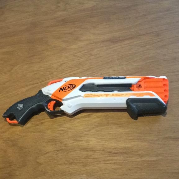Nerf roughcut 2x4 shotgun