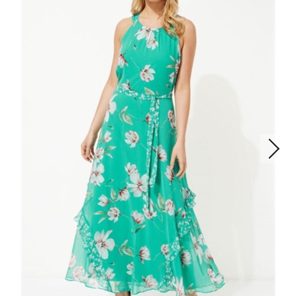 Roman floral dress