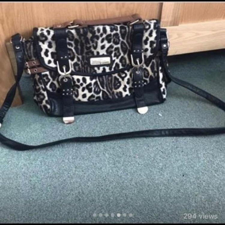 River Island Leopard print bag