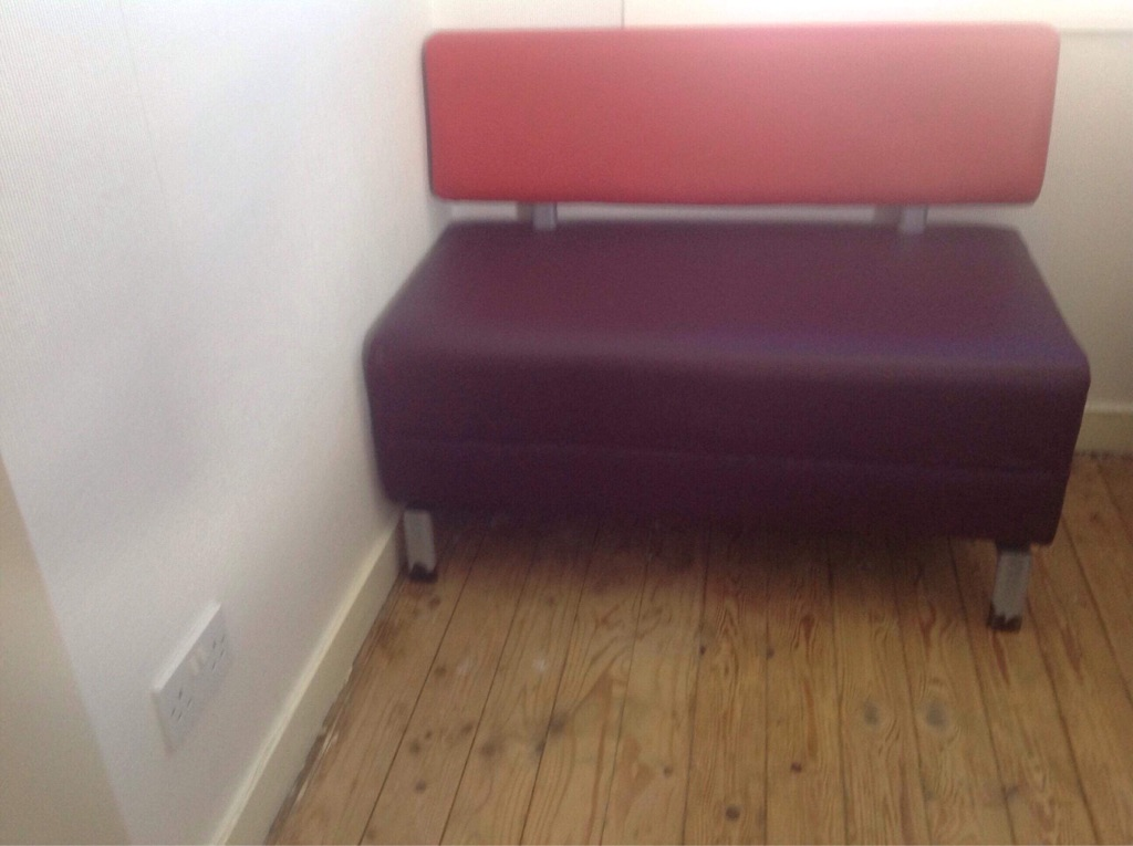 Modern diner bench seating 4 available