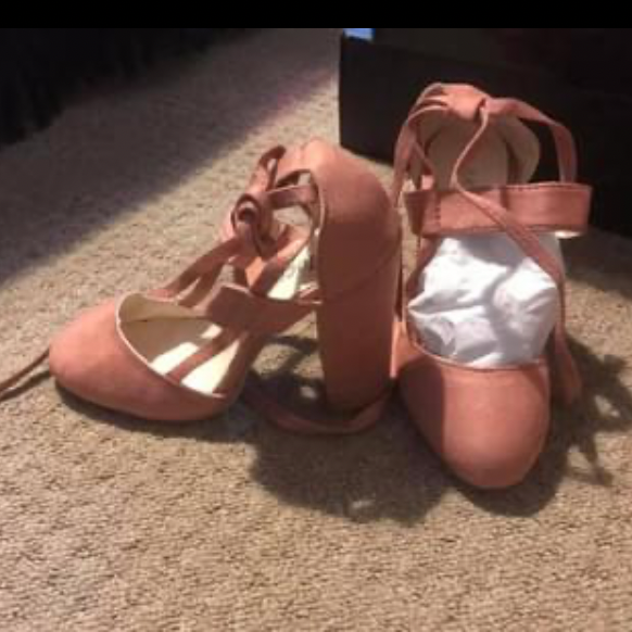 Pick square heel sandals