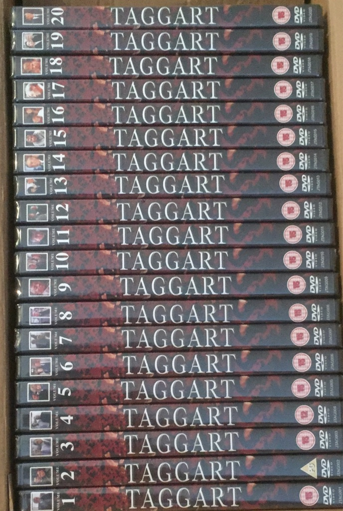X20 taggart DVD's brand new and factory sealed