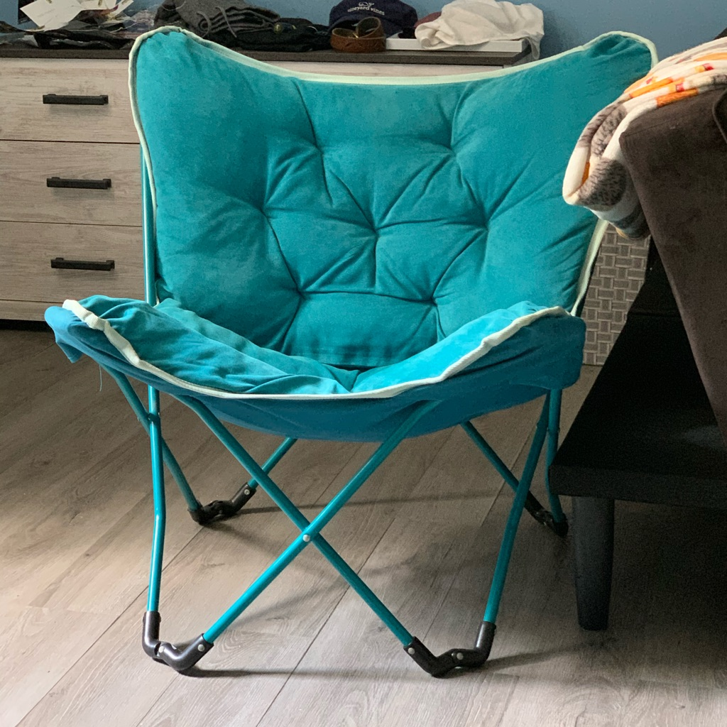 Memory Foam Butterfly Chair