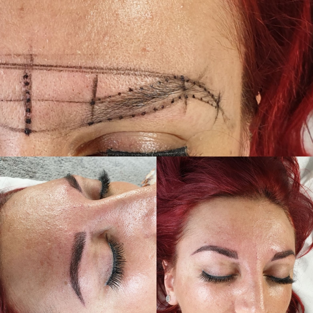 Microblading , Eyelash Extensions , LVL Lash lift ,dy4 7ar